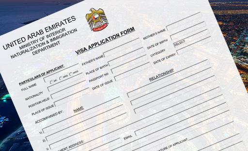 Visum Typen für Dubai VAE